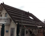 Solaranlage - Installation des Trägersystems