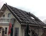 Solaranlage - Trägersystem mit Kreuzschienenverbinder