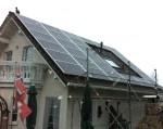 Fertigstellung der Solaranlage